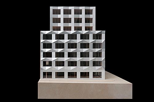 architekturmodell b rogeb ude prag b la berec modellbau 1 50. Black Bedroom Furniture Sets. Home Design Ideas