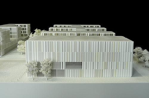 architekturmodell it rathaus m nchen b la berec. Black Bedroom Furniture Sets. Home Design Ideas