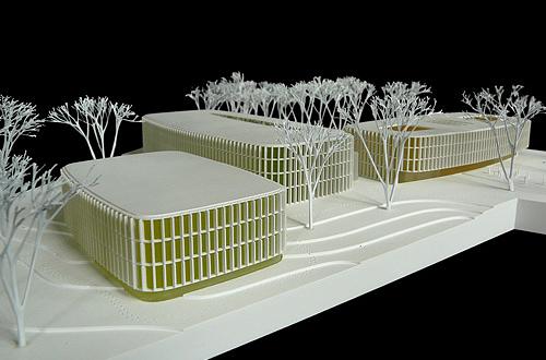 Architekt Bonn architekturmodell dzne bonn béla berec modellbau 1 500