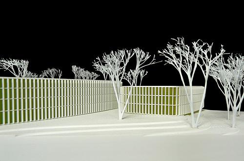 architekturmodell dzne bonn b la berec modellbau 1 500. Black Bedroom Furniture Sets. Home Design Ideas