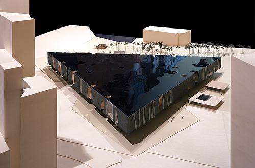 architekturmodelle herzog de meuron b la berec. Black Bedroom Furniture Sets. Home Design Ideas