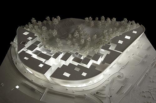 architekturmodell the circle z rich b la berec modellbau. Black Bedroom Furniture Sets. Home Design Ideas