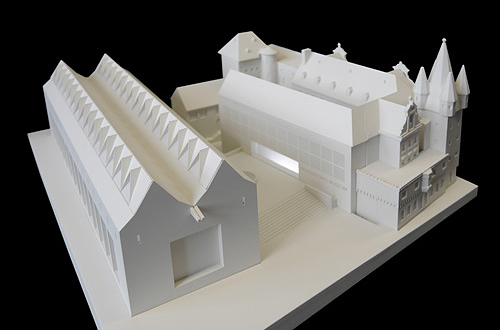 architekturmodell historisches museum frankfurt b la. Black Bedroom Furniture Sets. Home Design Ideas