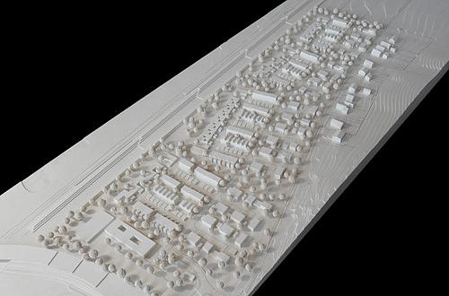 Architekten Regensburg architekturmodell brandlberg regensburg béla berec modellbau 1 1000