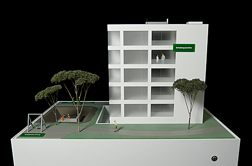 architekturmodell exponat f r dekra bau immobilien. Black Bedroom Furniture Sets. Home Design Ideas