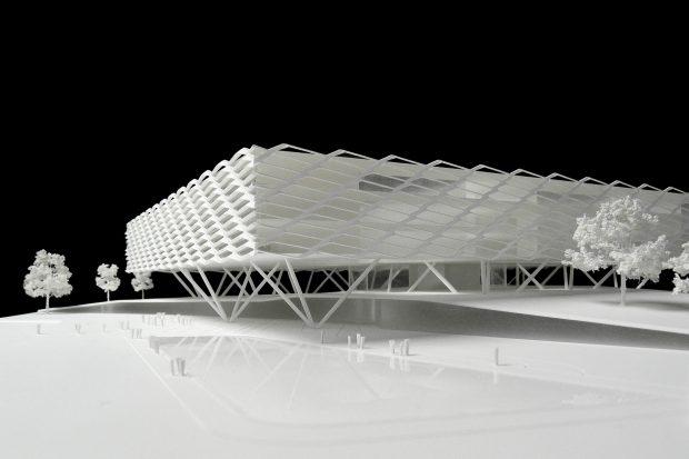 architekturmodelle behnisch architekten b la berec. Black Bedroom Furniture Sets. Home Design Ideas