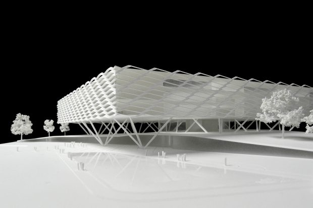 architekturmodelle behnisch architekten b la berec modellbau stuttgart. Black Bedroom Furniture Sets. Home Design Ideas