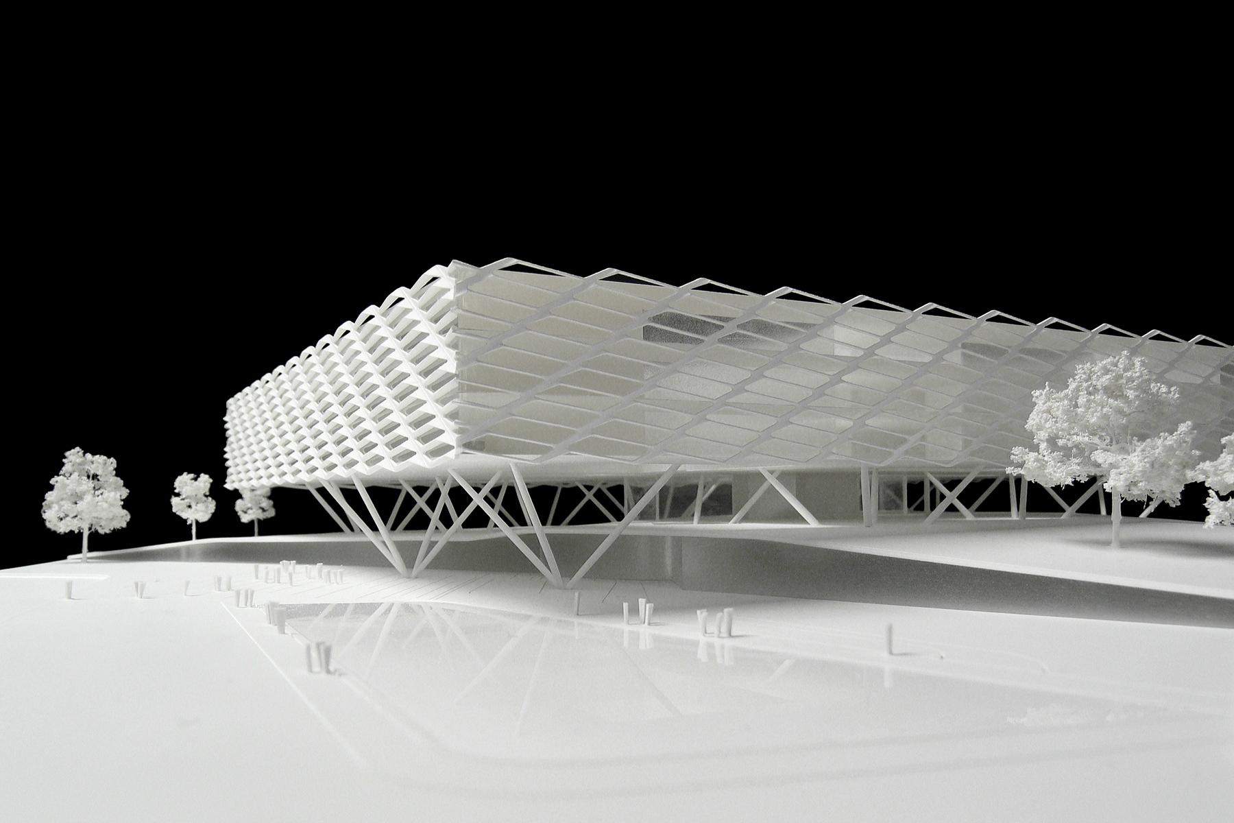 Architekturmodell Adidas World Of Sports B 233 La Berec