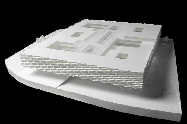 architekturmodell 05 wettbewerb modell behnisch architekten adidas world of sports southeast. Black Bedroom Furniture Sets. Home Design Ideas