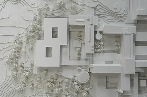 architekturmodell robert bosch krankenhaus b la berec. Black Bedroom Furniture Sets. Home Design Ideas
