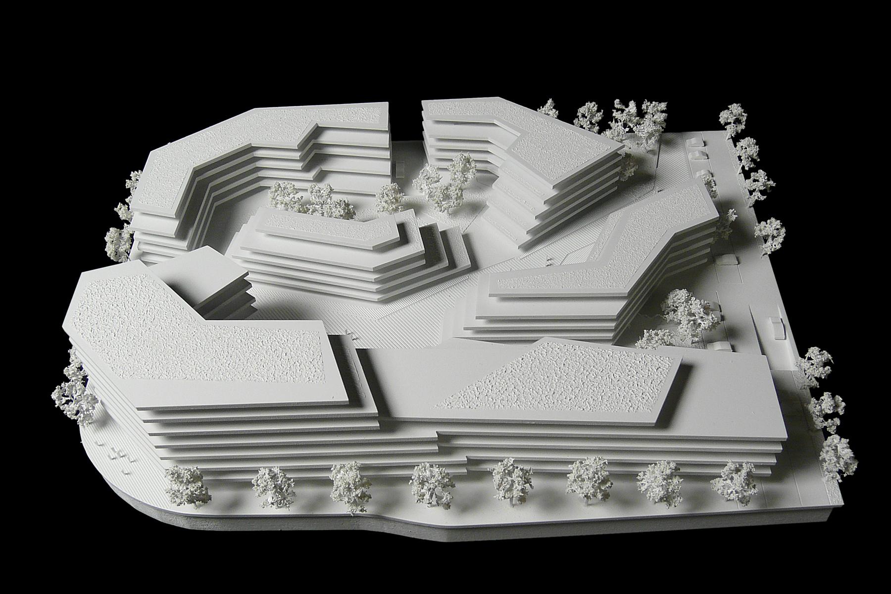 architekturmodell hauptsitz gag k ln b la berec. Black Bedroom Furniture Sets. Home Design Ideas