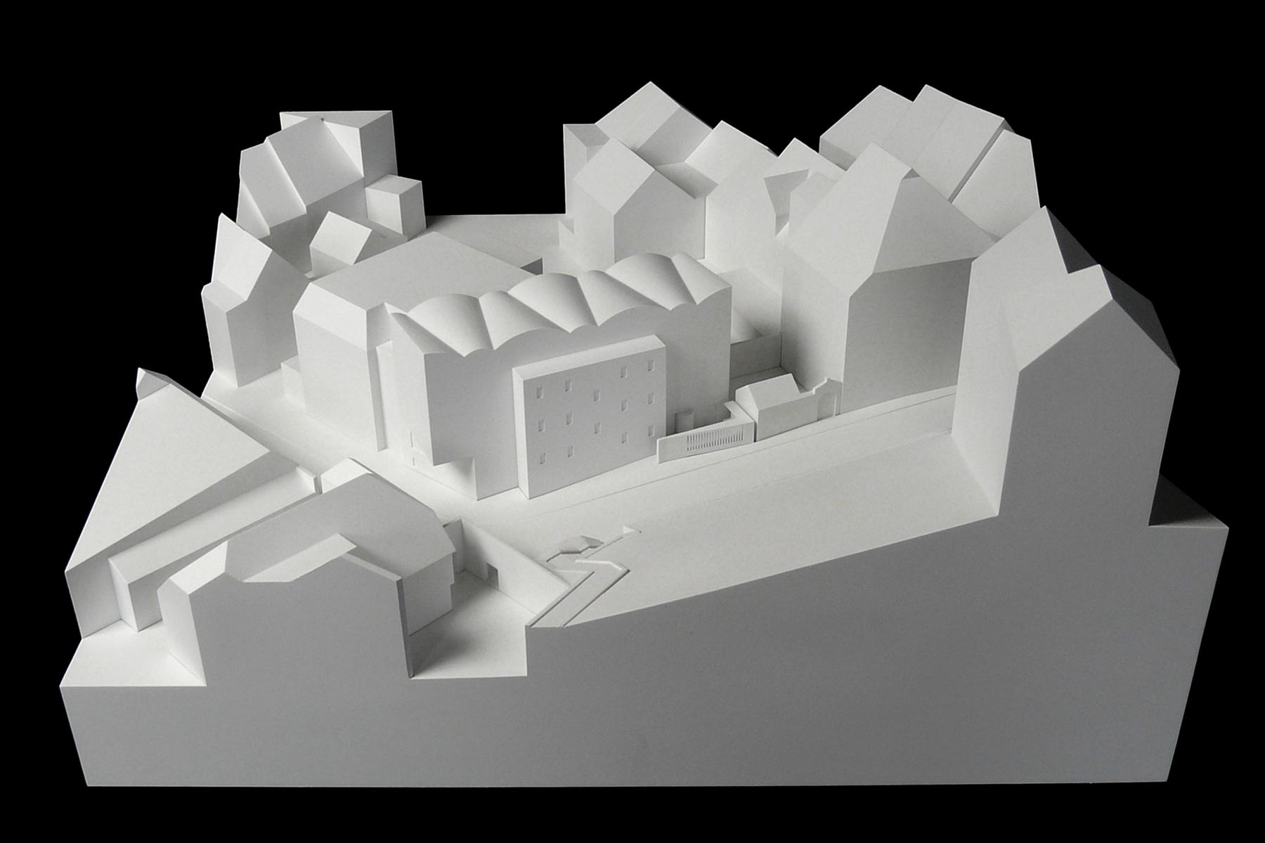 Architekten Ravensburg architekturmodell kunstmuseum ravensburg béla berec modellbau 1 200