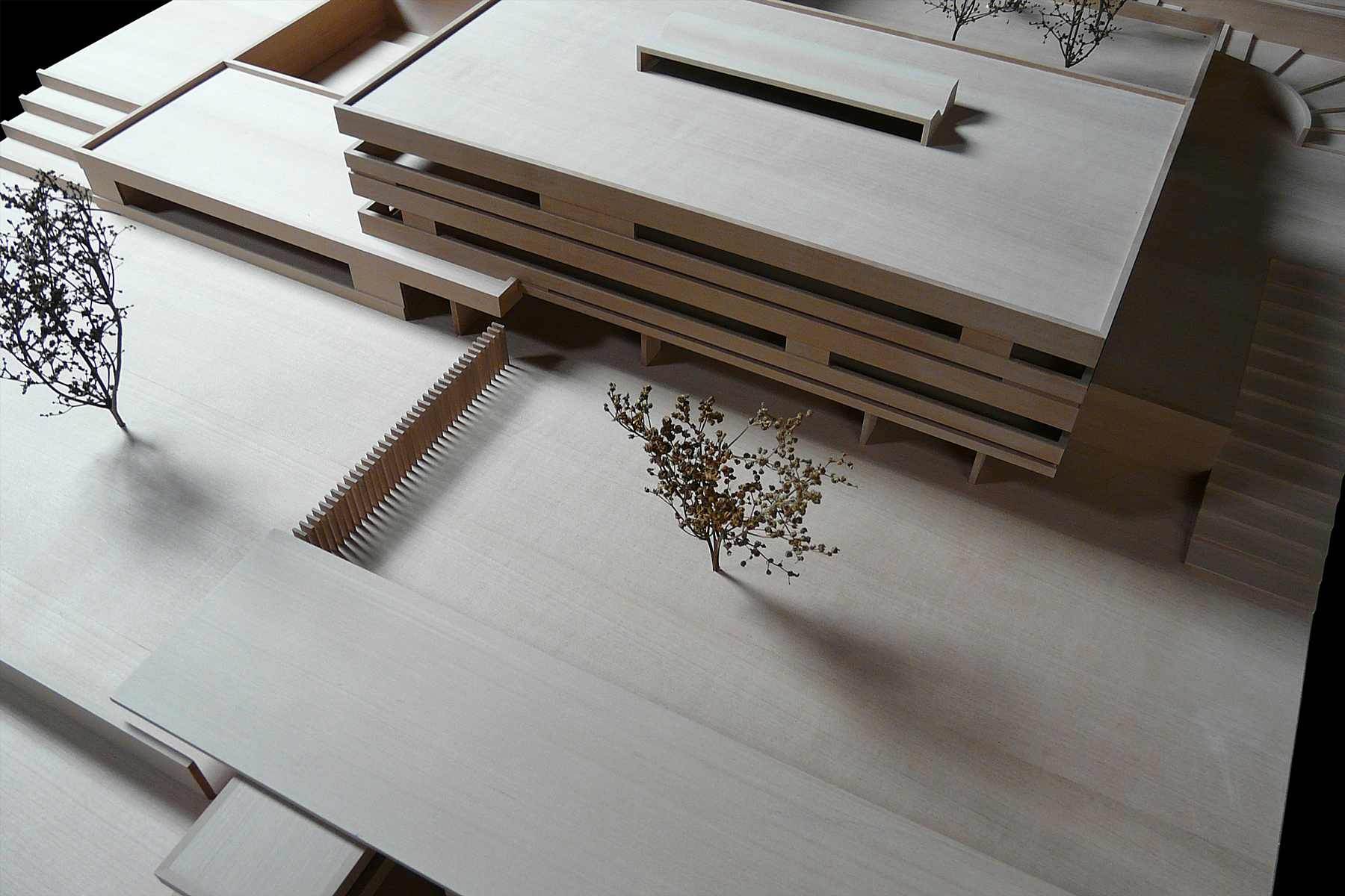 architekturmodell deutsche botschaft tiflis b la berec modellbau 1 100. Black Bedroom Furniture Sets. Home Design Ideas