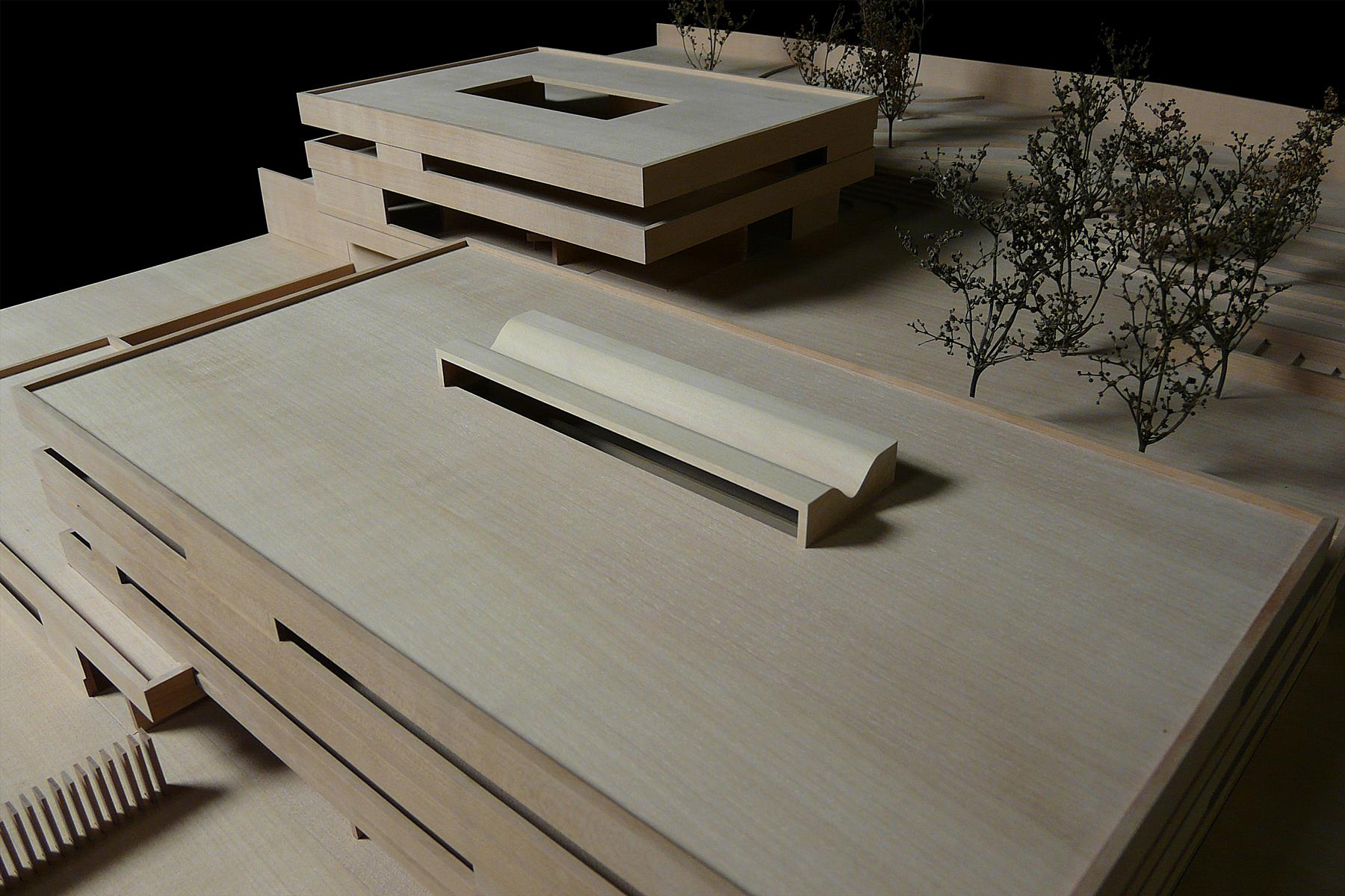 architekturmodell deutsche botschaft tiflis b la berec. Black Bedroom Furniture Sets. Home Design Ideas
