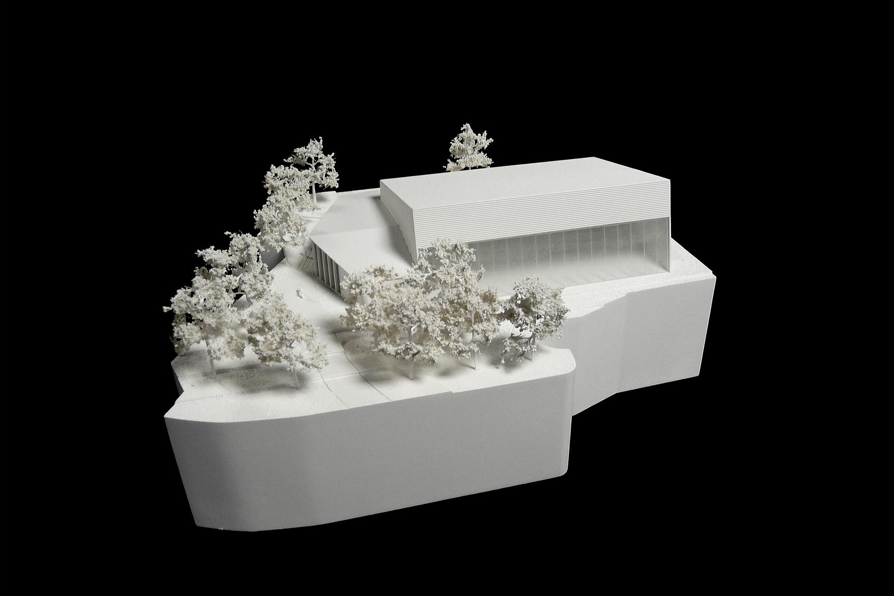 architekturmodell lyc e franco allemand b la berec. Black Bedroom Furniture Sets. Home Design Ideas